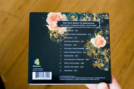 Uglum/Ward/Ward CD back
